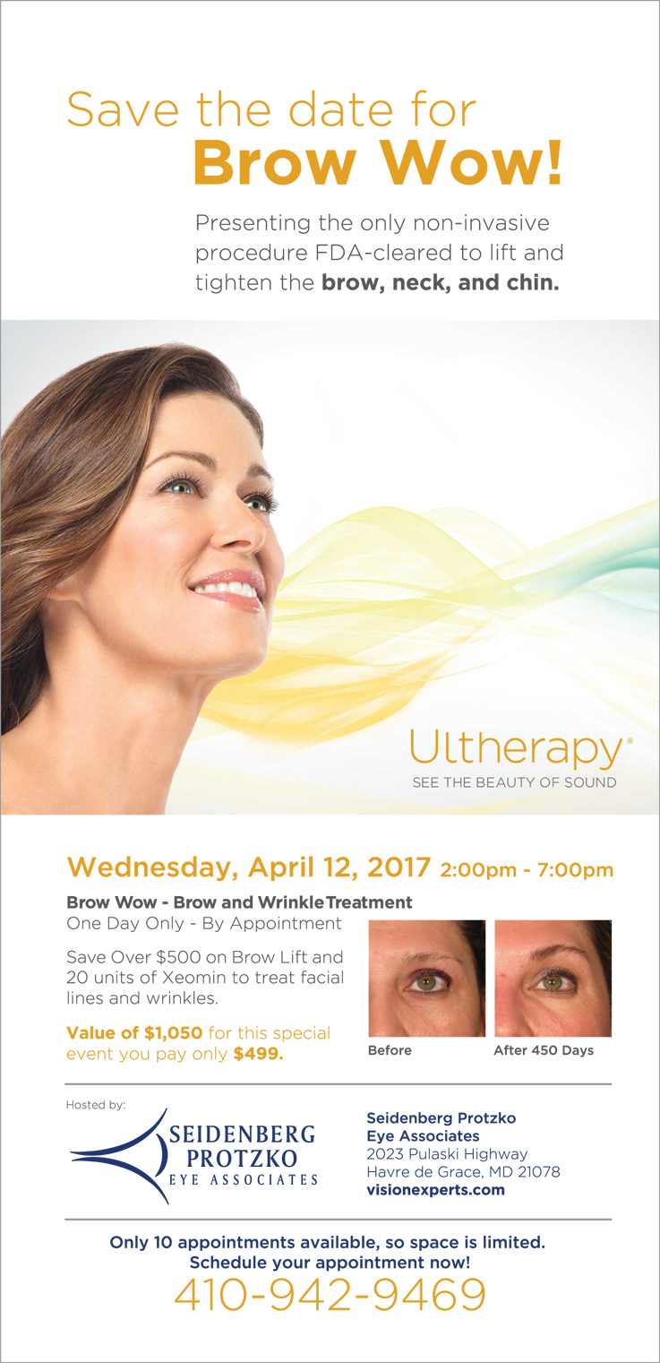 ultherapy brow event